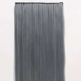 Ash Grey Hair Extensions