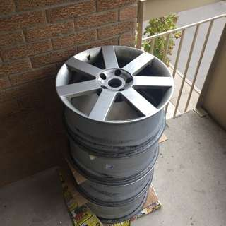 18in MASITALY rims 5x120 PCD