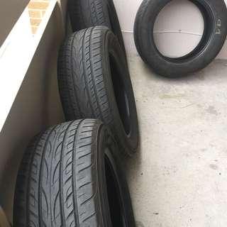245/60R18 YOKOHAMA Avid Envigor tires