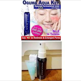 🙀 $6.80 ONLY !!!💧 Oguma Young Spray Facial Mist (50ml) + ❤️FULL SIZED Dr Oguma Young Spray Stick II Value Set BNIB/BNIP
