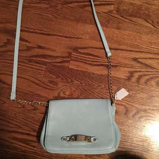 Call It Spring Baby Blue Purse