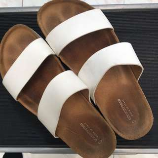 Country Road Sandals - Size 40 - White
