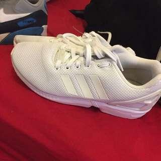 Adidas Zx Flux White size 9