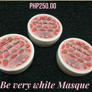 Be very white Masque
