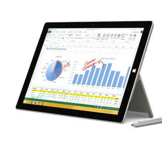 Microsoft Surface Pro 3 W/ Warranty