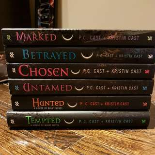House Of Night Series Vol. 1-6