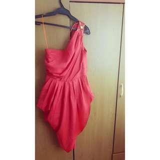 Petite Monde Drape Venus Dress