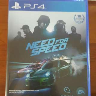 Need For Speed 2015 PS4 (Reserved)