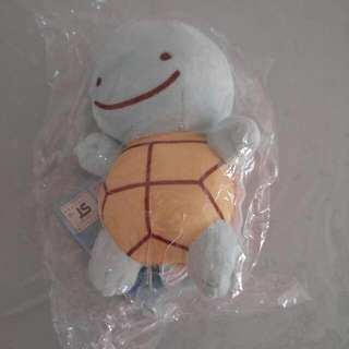 Pokemon Squirtle Soft Toy 15cm