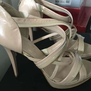 Bianca Bucherri Shoes In Beige Colour Size 39