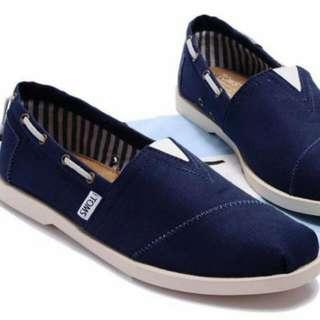 Toms鞋男款9.5號海軍藍