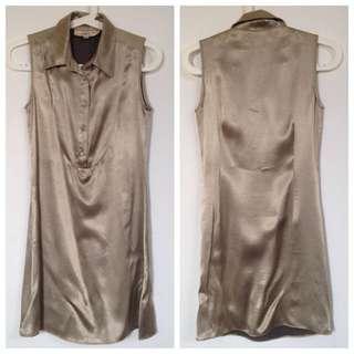 Chocolate : Shirt Dress