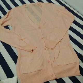 粉膚色防曬外套