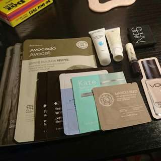 (pending) Korean And American Samples And 3 Masks