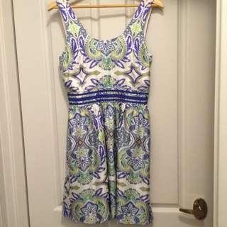 Kachel 100% Silk Size 8 Dress