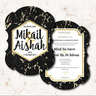Invitation Cards - Wd48