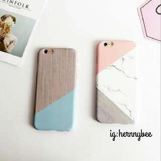幾何拼貼手機殼iphone case 6/6s/7
