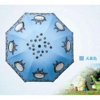 龍貓手動折疊傘
