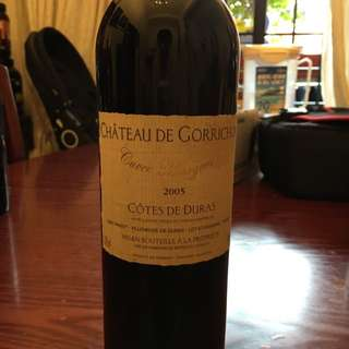 French Red Wine - Cotes De Duras