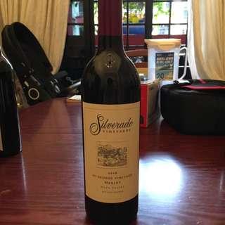 California Red Wine - Sliverado Merlot