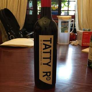 Australia Red Wine - Tatty Shiraz