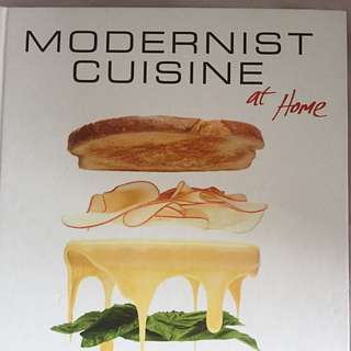 Modernist Cuisine At Home Book First Edition Cookbook