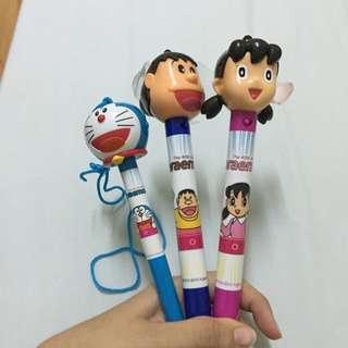 哆啦A夢 胖虎 靜香 筆
