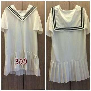 白色水手服