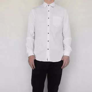 SEED Men's White Shirt