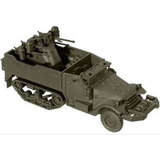 [H0 1/87] Military - US M16 Half-Track Flak Vehicle [miniTank] NEW
