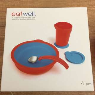 Eatwell 失智者專用餐具四件組