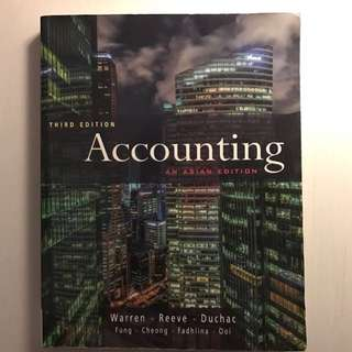 Accounting Third Edition Textbook