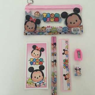 Party Gifts: 7-in-1 Pencil Case Stationery Set