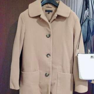羊毛繭形大衣