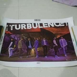 [INSTOCK] GOT7 Turbulence Poster