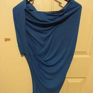Bardot Asymmetrical Wrap Skirt