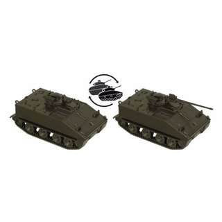 [H0 1/87] Military - US M114 armored fighting vehicle [miniTank] NEW