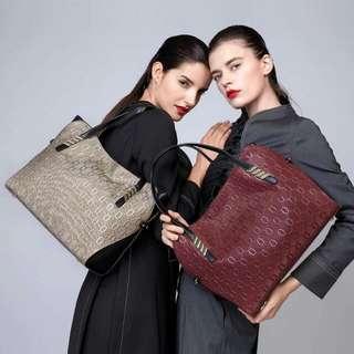 women genuine leather bags for OL shoulder