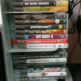 PlayStation 3/PS3/PS 3 Games (starts from RM60)