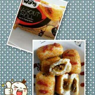 Roggut Roll Weiwang#donut Kentang Mahbellfood