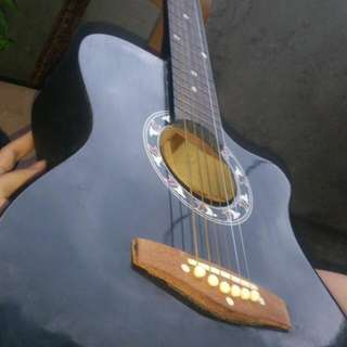Cheap small acoustic guitar