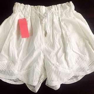Korean Scallop Shorts