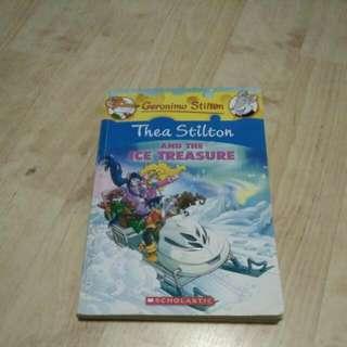 The a Stilton And The Ice Treasure