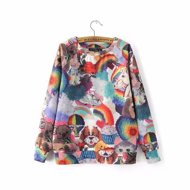 41286 - Colorful Art Sweater