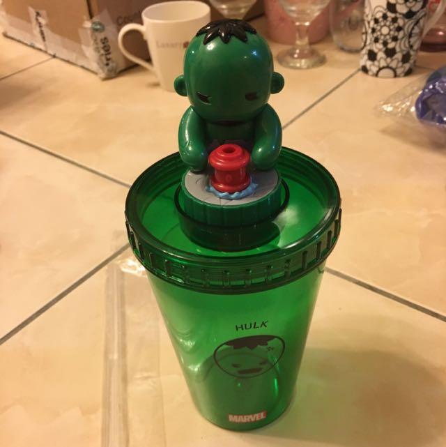 綠巨人浩克冷水杯-請自取