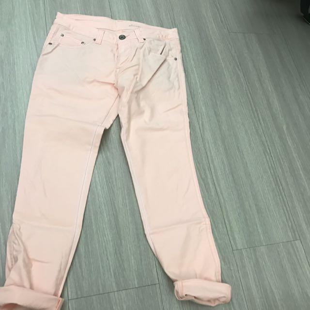日本 帶回 粉 褲子