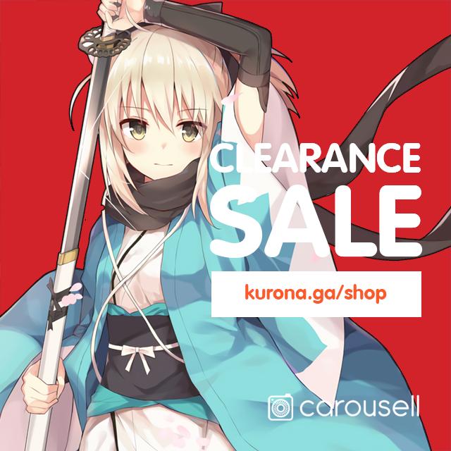 🉐 Anime Items Clearance ALL must go!