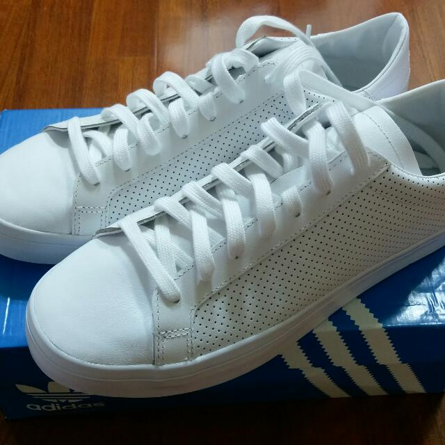 Adidas Original Courtvantage 全白 純白