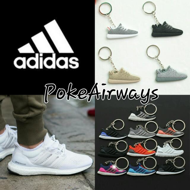 c0358acf539d Adidas Ultra Boost and Yeezy Boost 350 Keychain