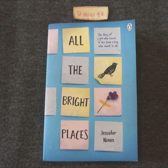 All The Bright Places - Jennifer Niven // English